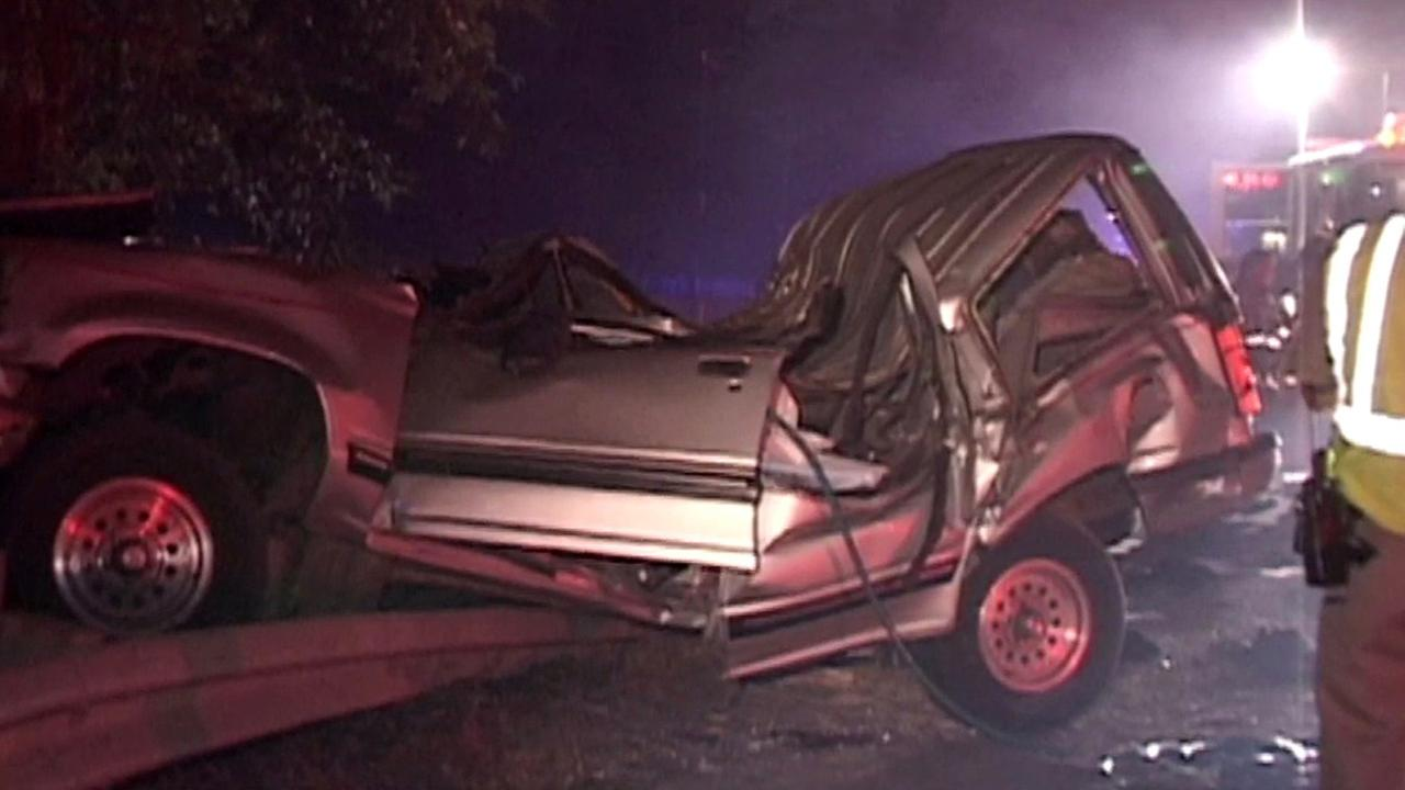SUV fatal crash on Highway 101 in Santa Rosa.