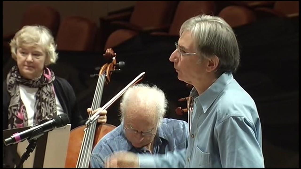 San Francisco Symphony Music Directo Michael Tilson Thomas appears in this undated image.