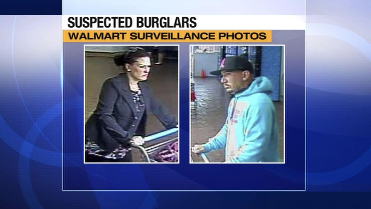 Investigators are asking for the publics help in identifying two people suspected of using a credit card stolen from an unincorporated Walnut Creek home earlier this month.