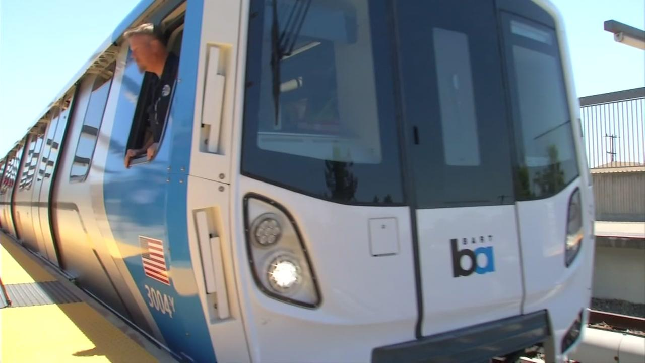 FILE -- BART train