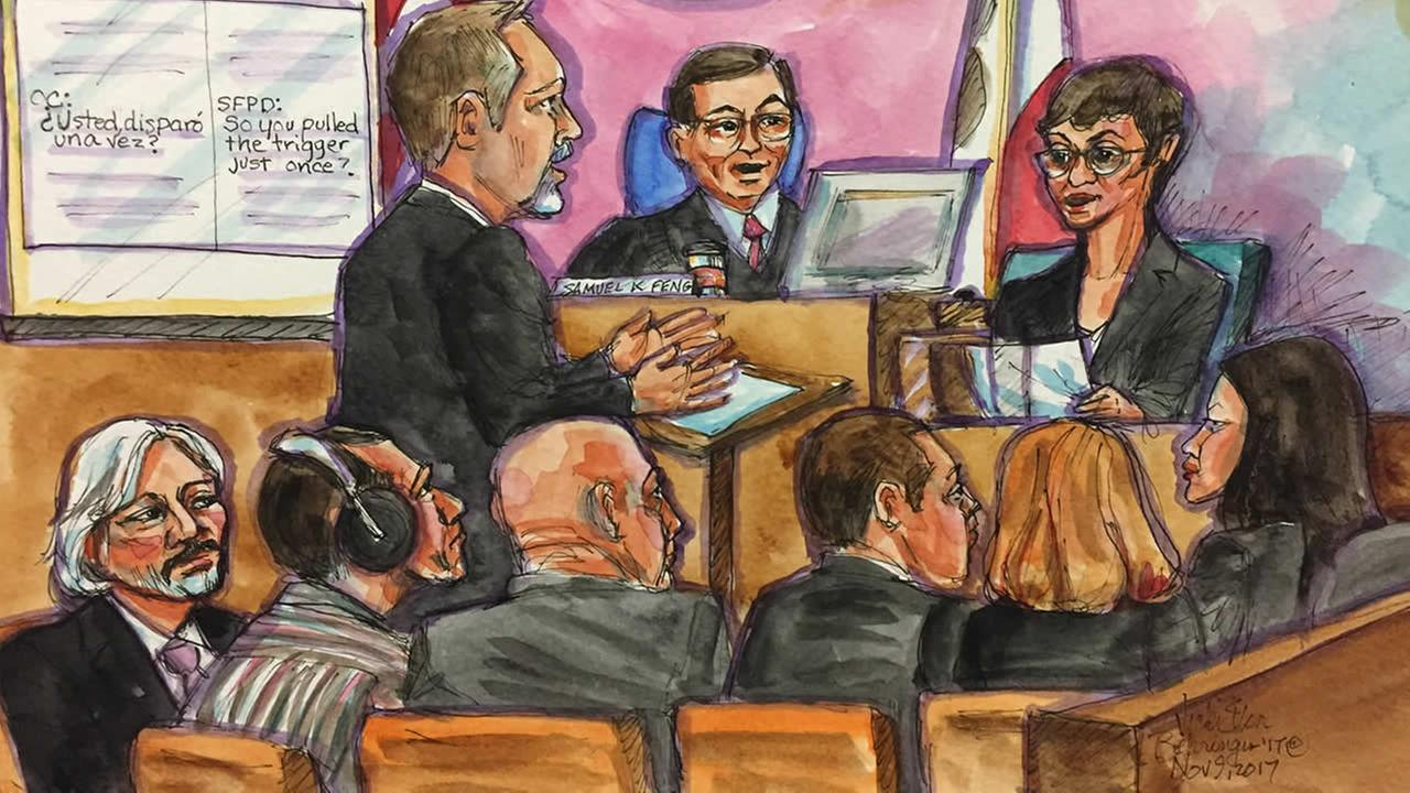Fanny Suarez, a former certified court interpreter with years of experience, testified in the Kate Steinle murder trial in San Francisco on Thursday, Nov. 9, 2017.