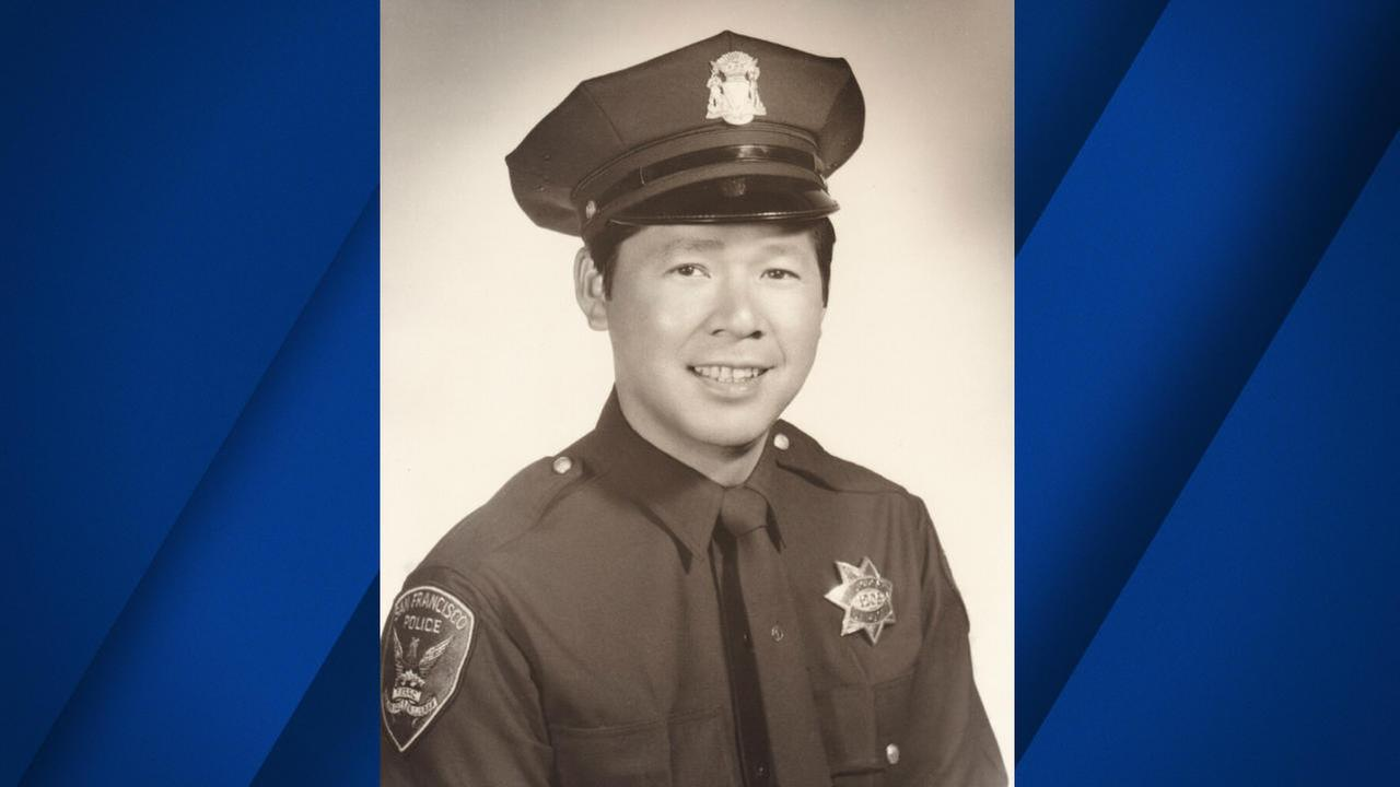 Herbert Herb Lee, San Franciscos first full-time Chinese-American police officer is seen in this undated image.