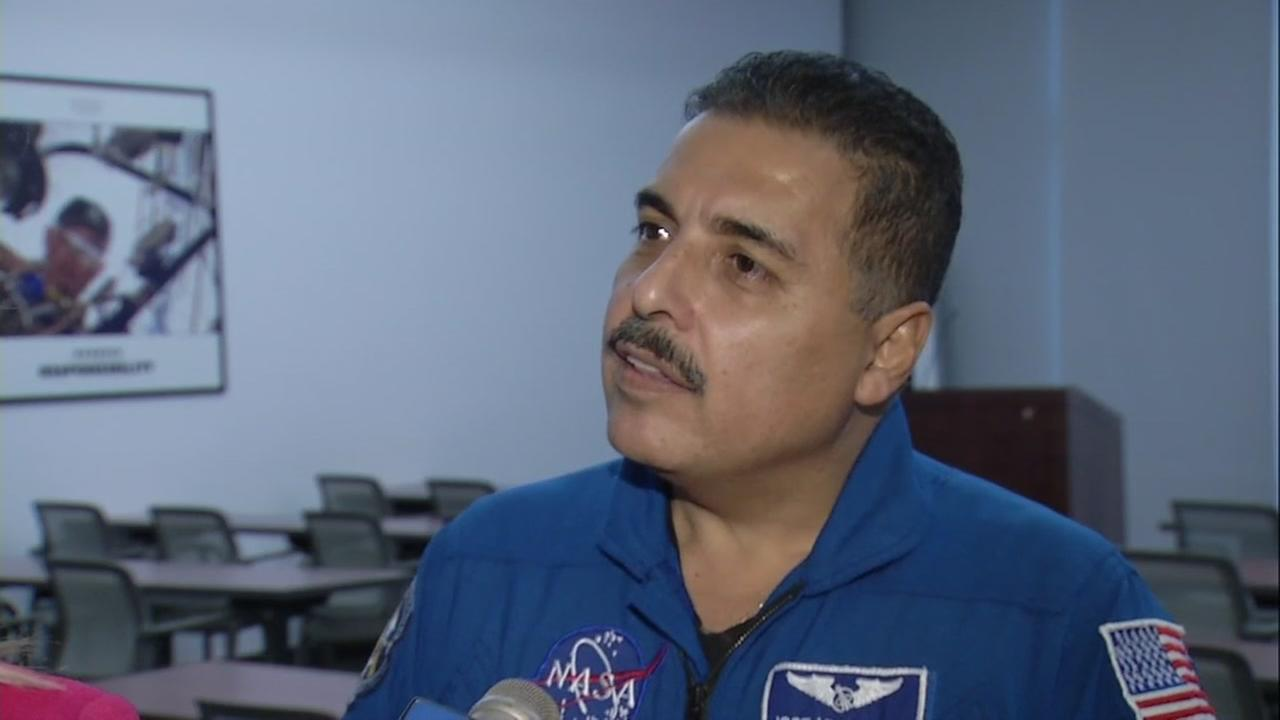 Former NASA Astronaut Jose Hernandez is seen in this undated image.