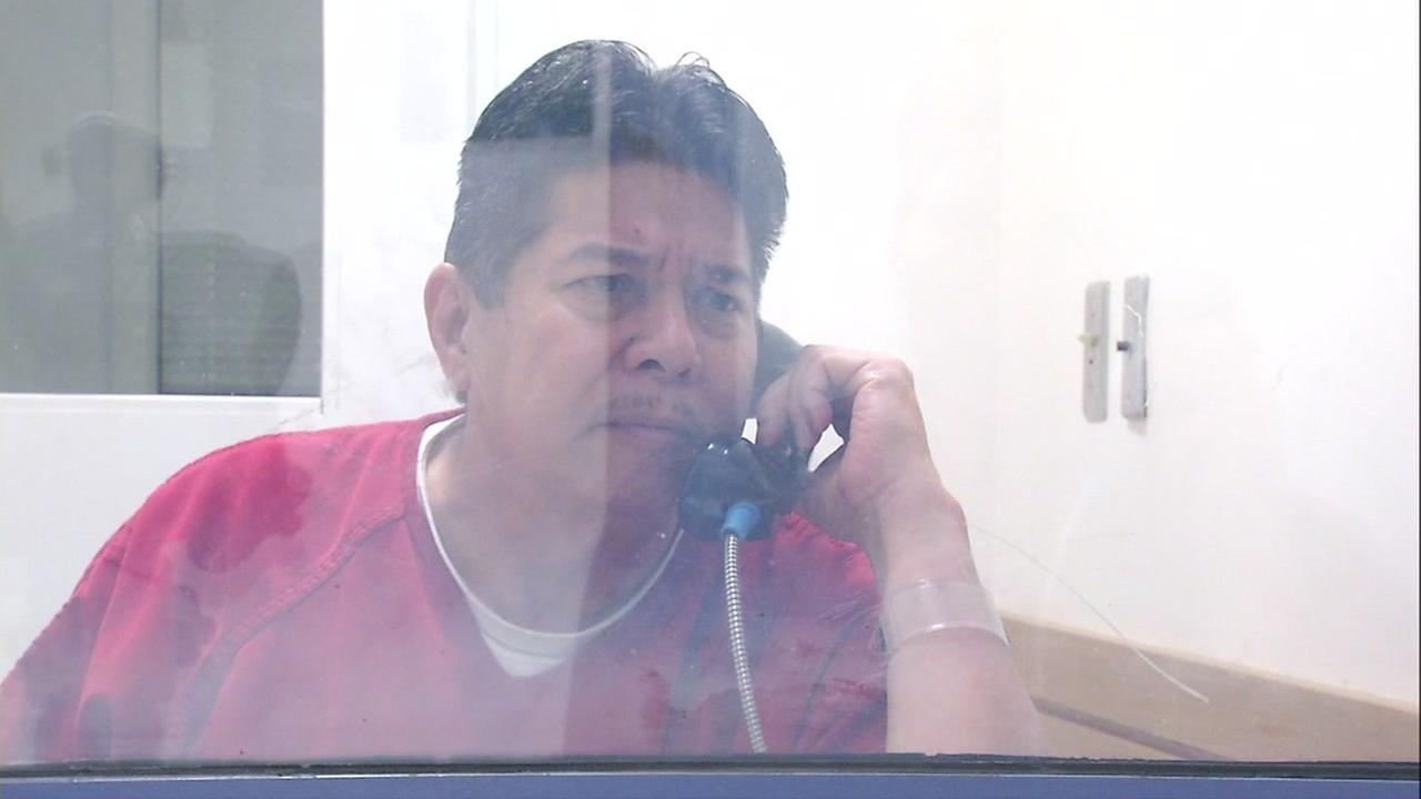 Randall Saito is seen during a jailhouse interview on Thursday, November 16, 2017.