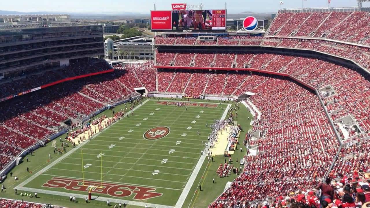 49ers preseason game at Levis Stadium