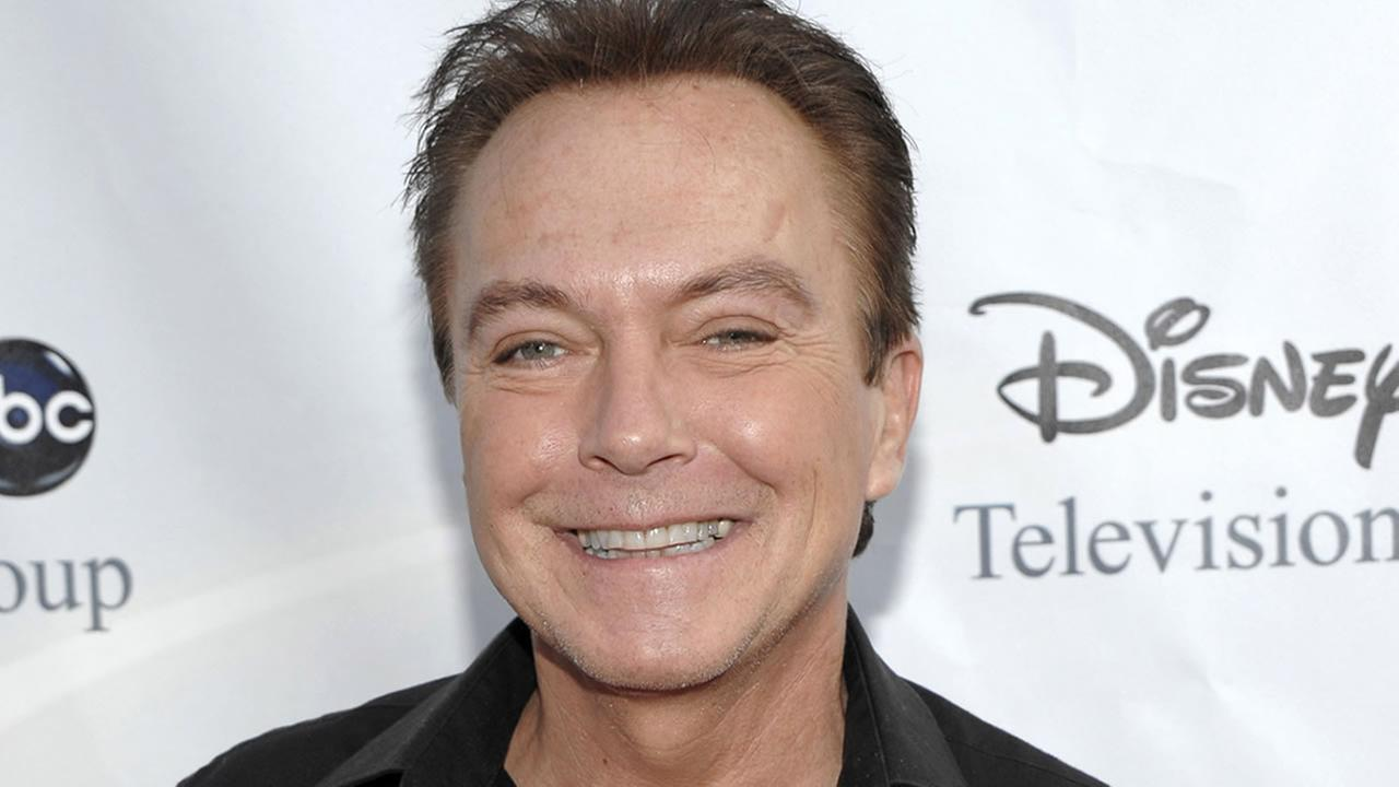This Aug. 8, 2009 file photo shows actor-singer David Cassidy arriving at the ABC Disney Summer press tour party in Pasadena, Calif.
