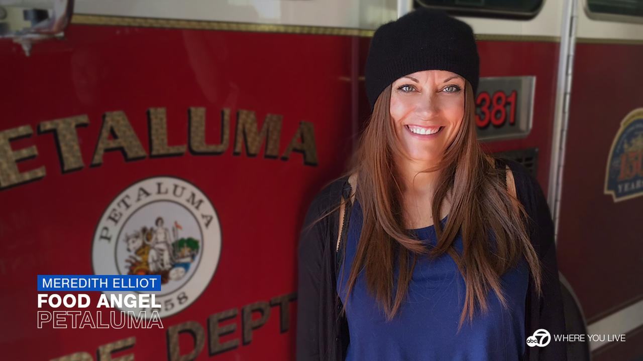 When the North Bay wildfires were burning, Meredith Elliot and her team of Sandwich Angels showed up to help feed first responders.