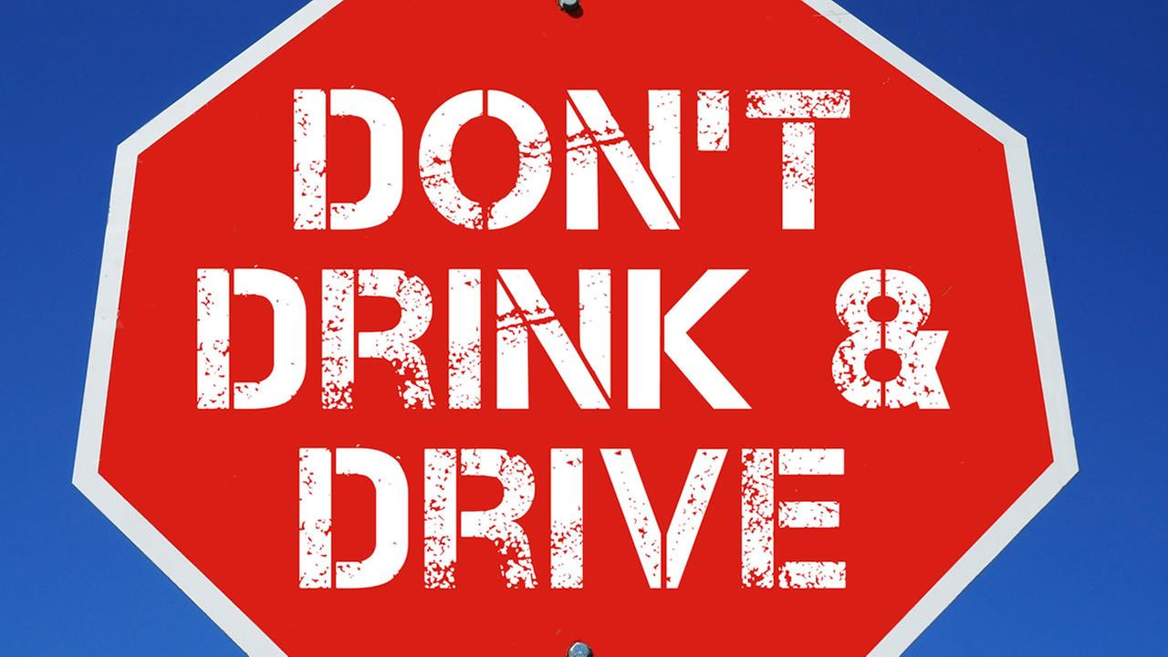 This image shows a sign that warns about drunk driving.