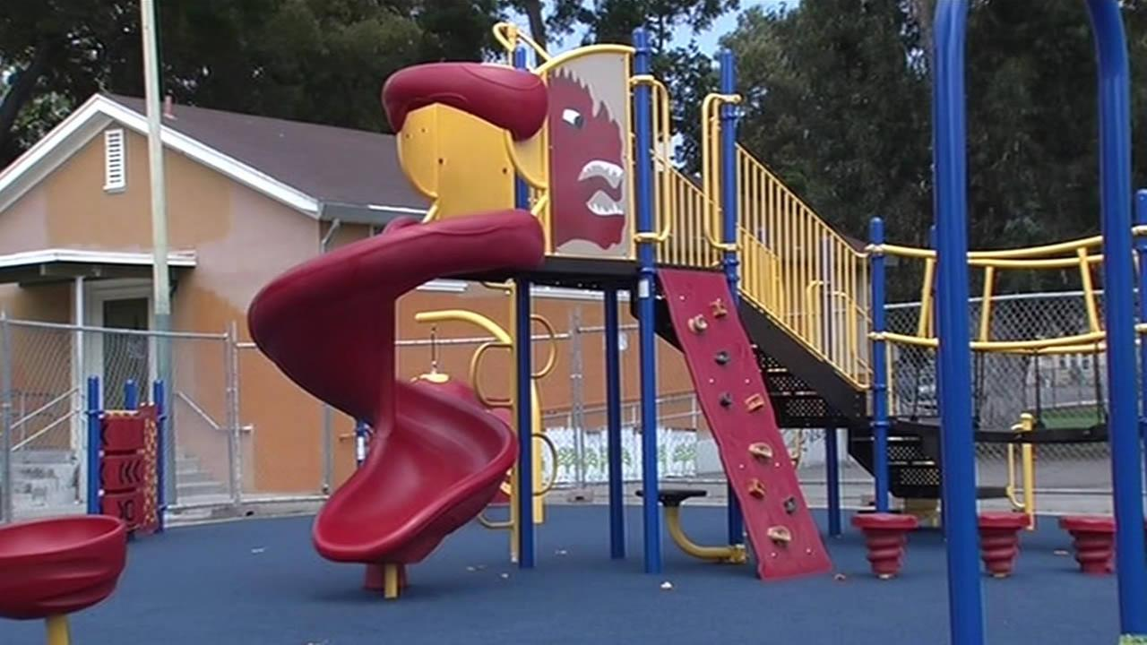 East Oakland Playground built by ABC7 News and KaBoom!