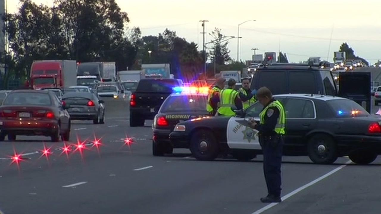 Hayward police investigate pedestrian fatality.