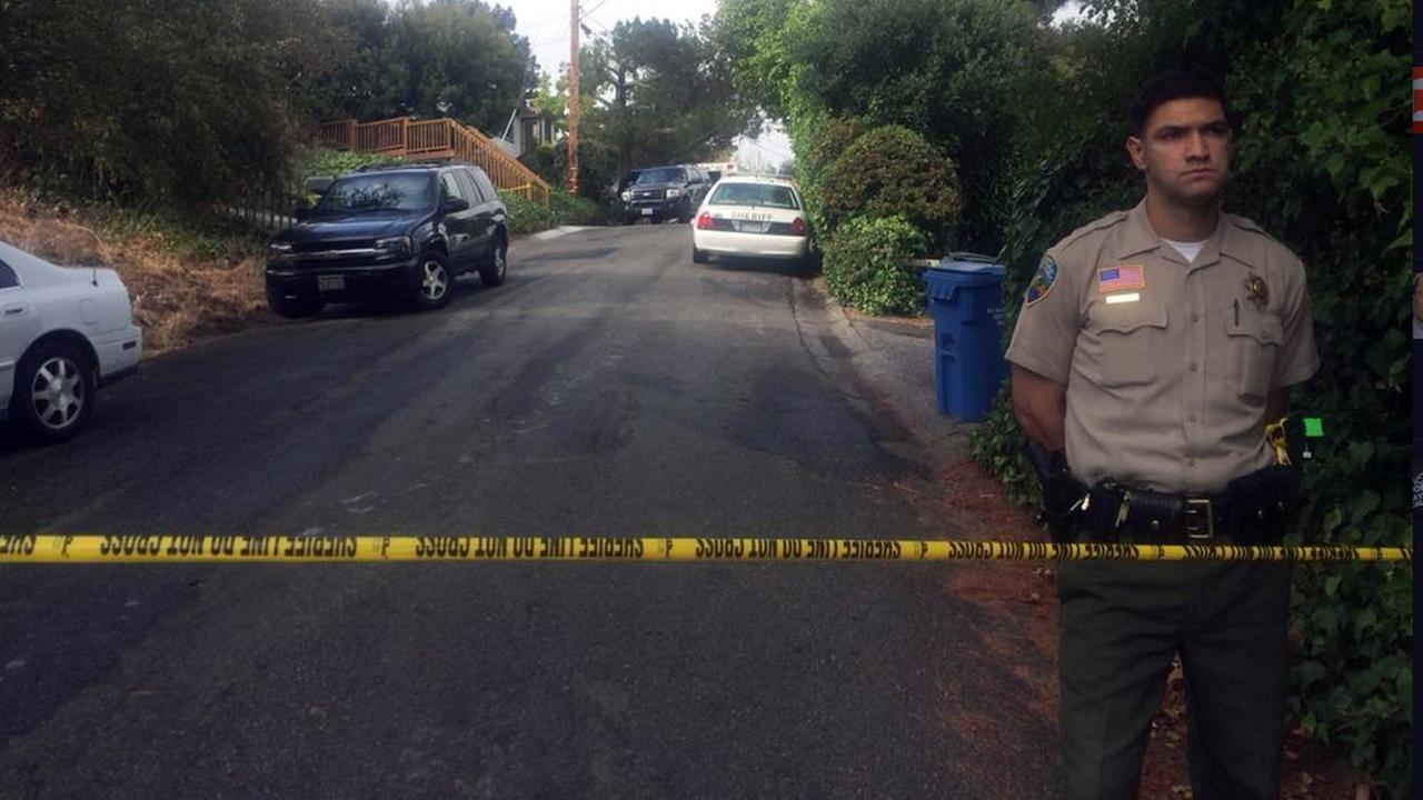 Deputies investigate death of two men in Marin County.
