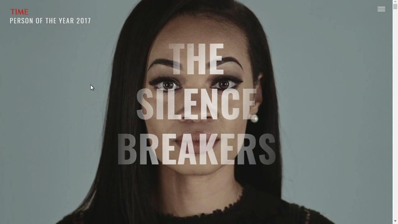 Time's Person of the Year: 'Silence Breakers' speaking out against sexual harassment