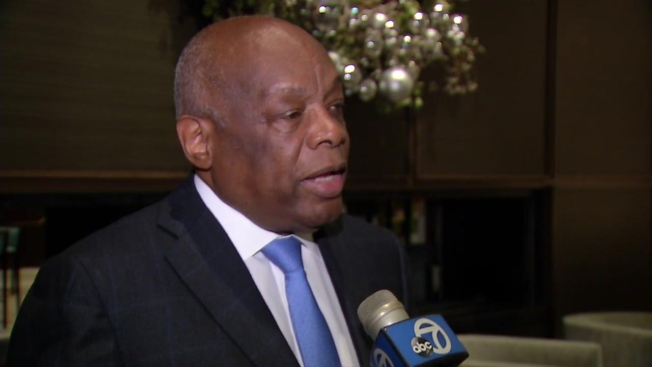 Willie Brown speaks in San Francisco, on Tuesday, December 12, 2017.