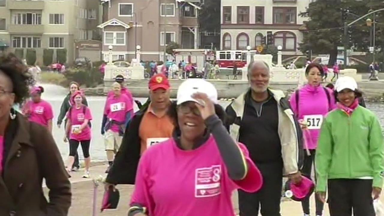 The Friends of Faith Fancher breast cancer fundraiser is Saturday at Lake Merritt in Oakland.