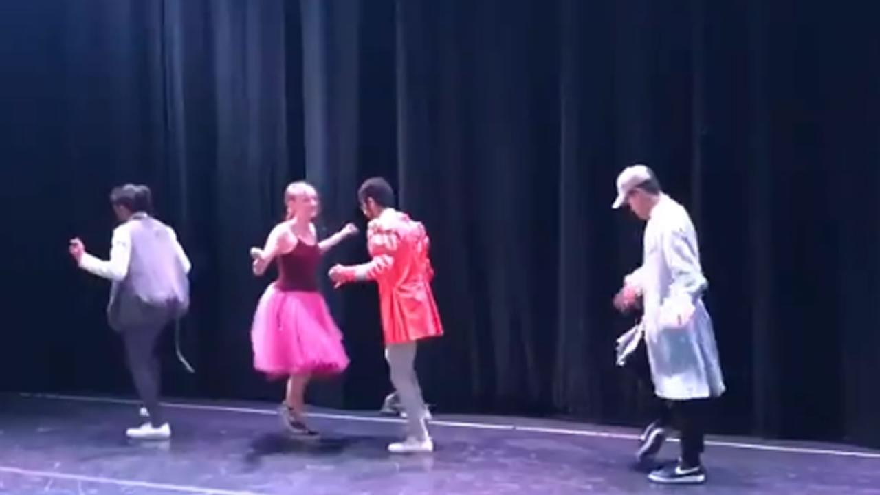 Peninsula Ballet Theatre dancers perform hip-hop version of The Nutcracker