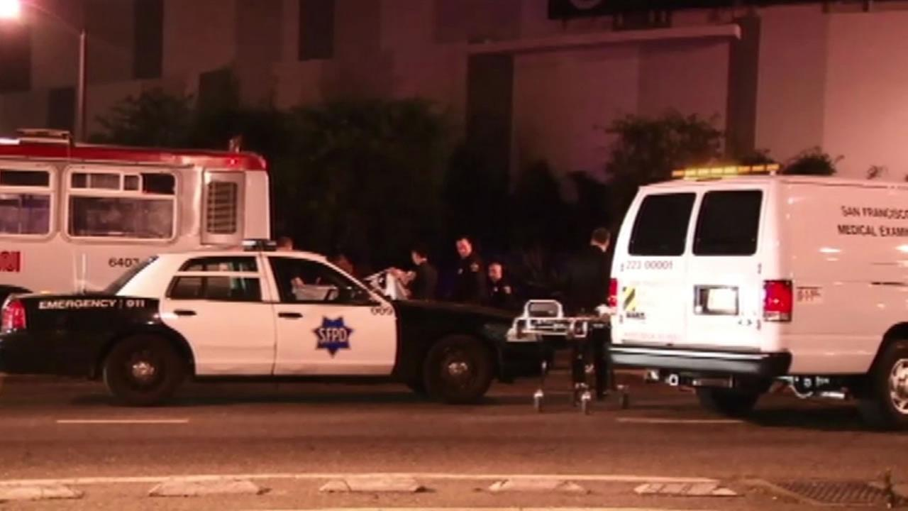 Police investigate a fatal Muni crash involving a pedestrian.