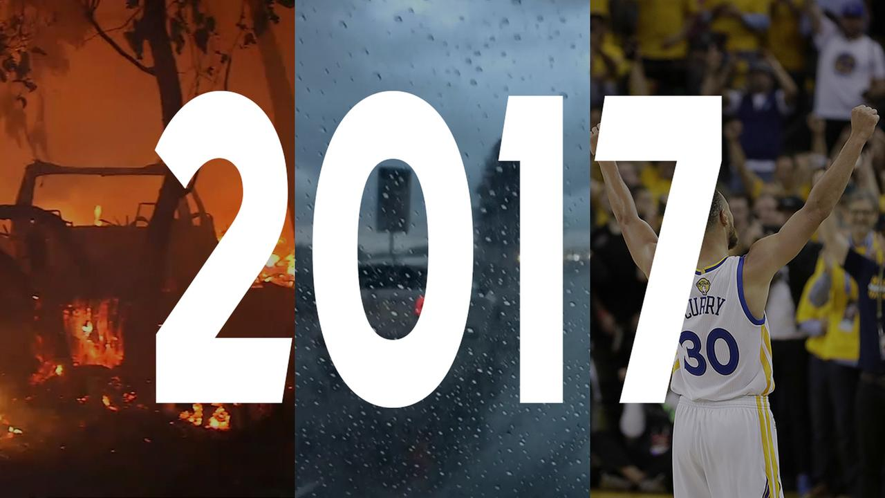 Storms, fires and violent clashes: A review of the top news stories in 2017