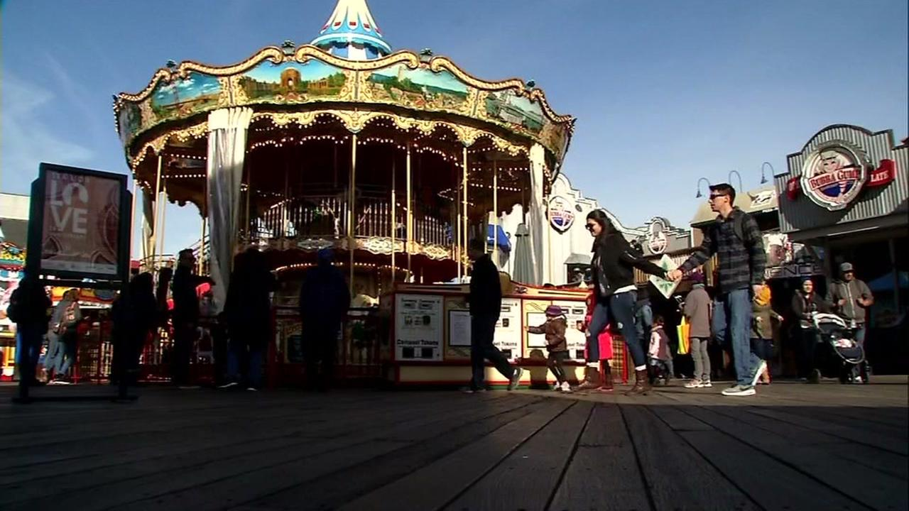 Pier 39s carousel appears on Friday, Dec. 22, 2017.