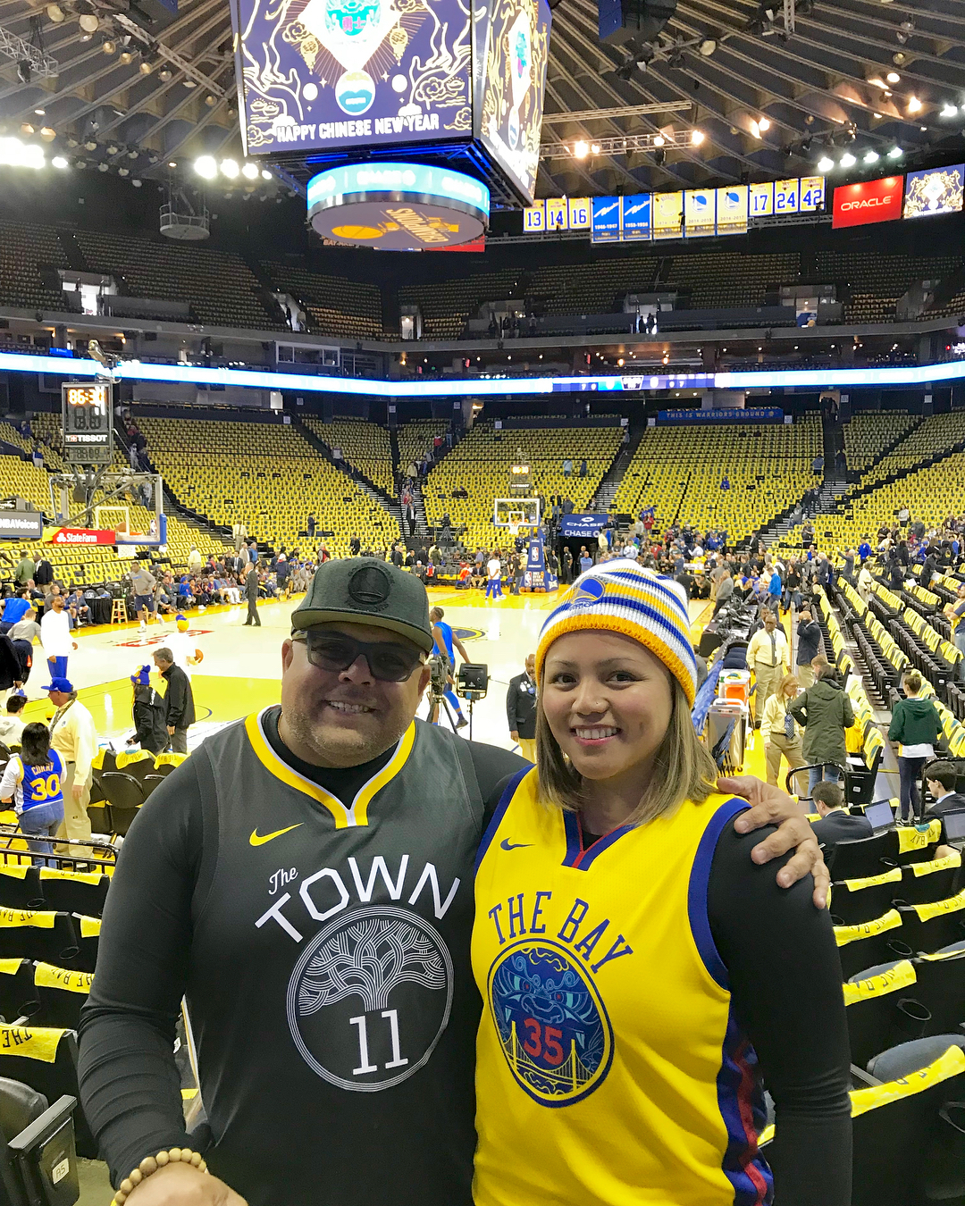 <div class='meta'><div class='origin-logo' data-origin='none'></div><span class='caption-text' data-credit='mr_mrsm0/Instagram'>Dub Nation, show us what you got! Share your Warriors fan pics with #abc7now to appear in this gallery, on air, or on our other social media platforms.</span></div>
