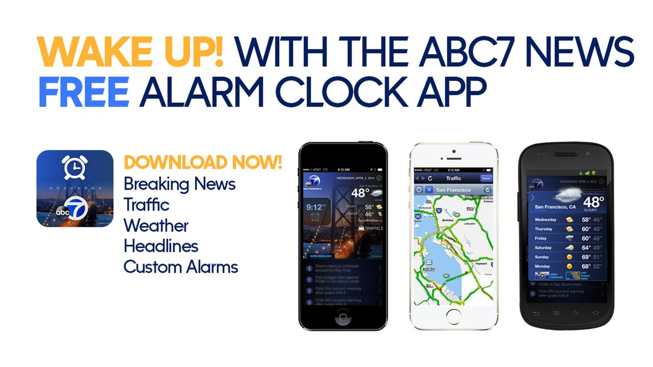 ABC7 News Alarm Clock App for iPhone & Android