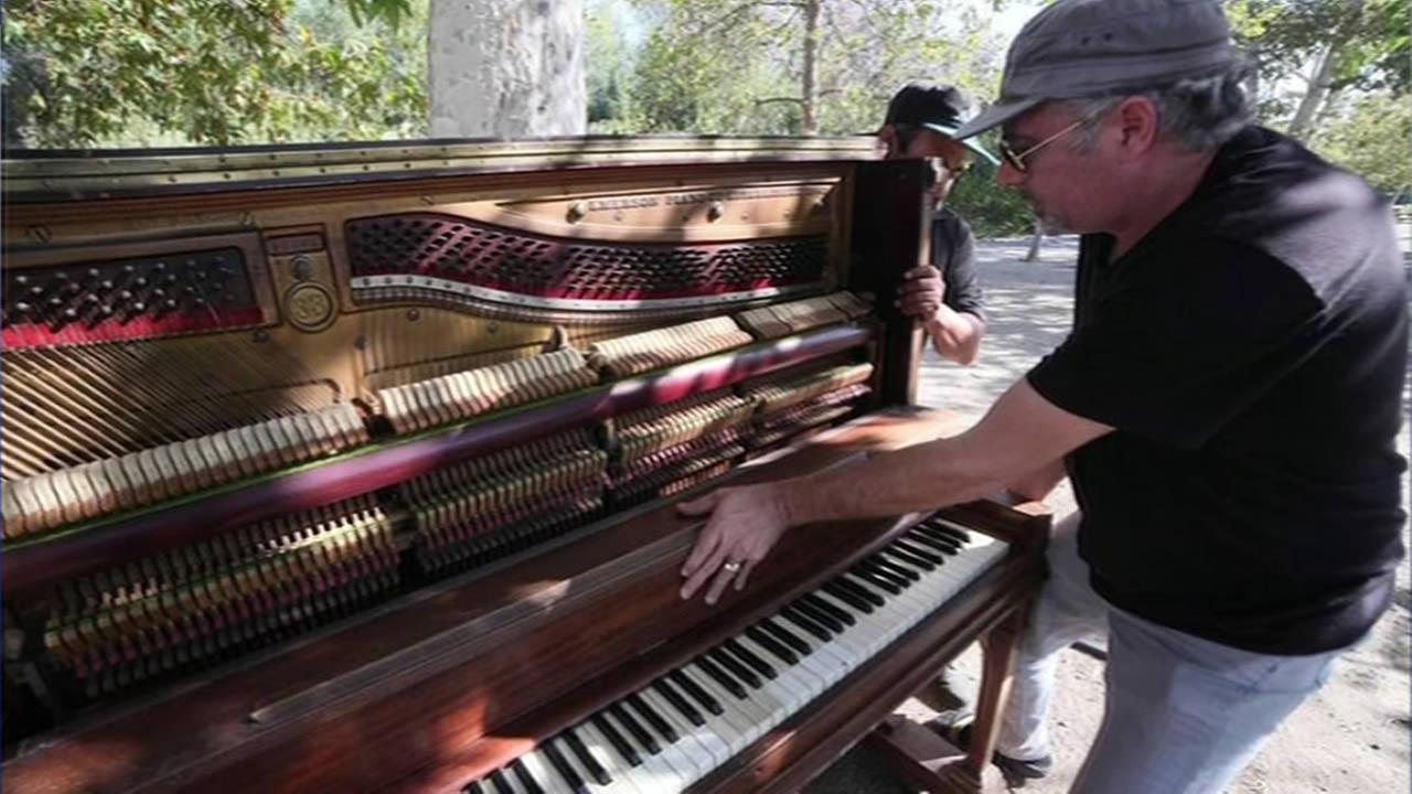 Pianos placed in several South Bay parks