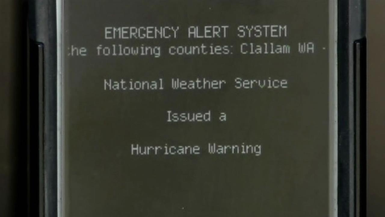 Emergency Alert System.