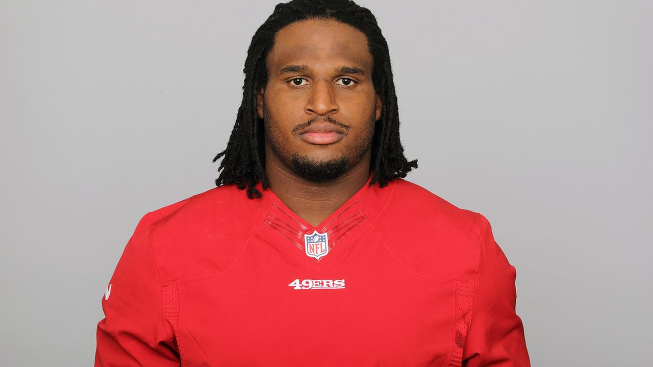This is a 2012 photo of Ray McDonald of the San Francisco 49ers NFL football team. (AP Photo)