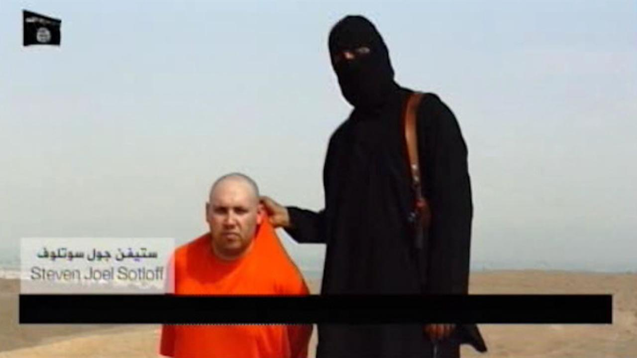New internet video allegedly shows the beheading of US reporter Steven Sotloff by ISIS.