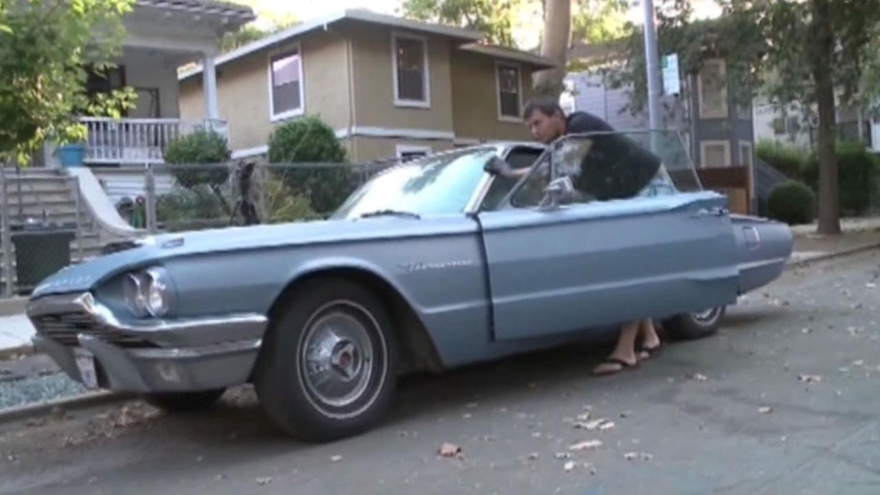 A Sacramento man is celebrating the return of a long-lost love -- his 1964 Ford Thunderbird.