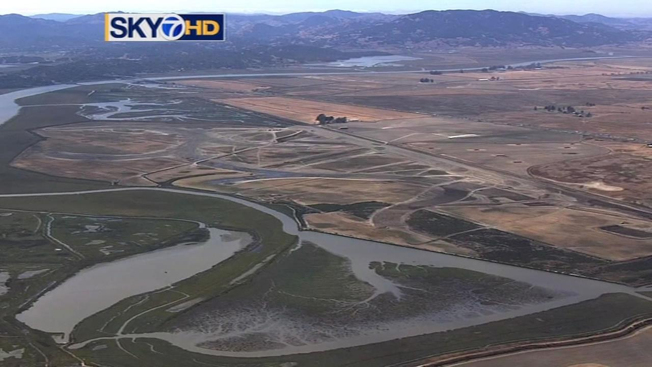Wetlands in the North Bay Area region