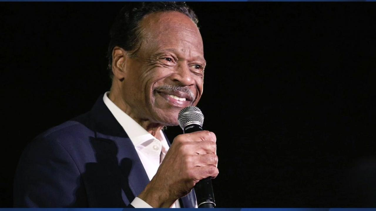 This is an undated image of Bay Area gospel singer Edwin Hawkins.