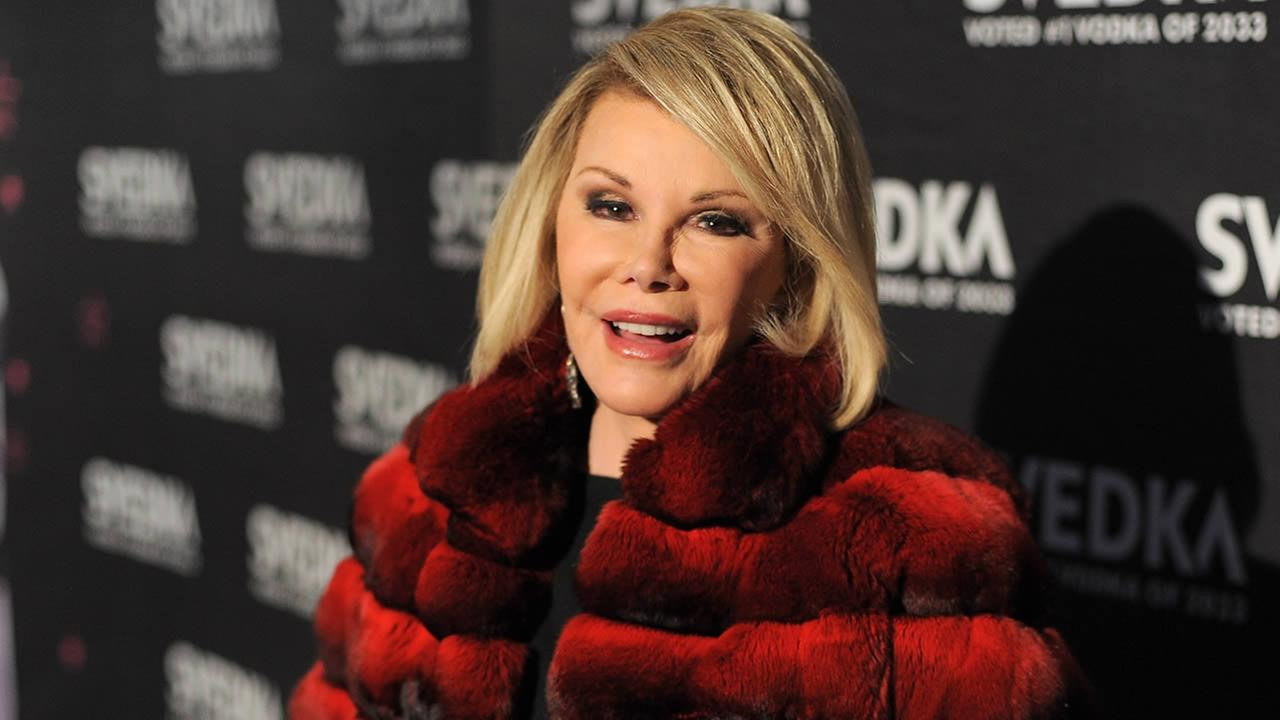 Comedian Joan Rivers attends SVEDKA Vodkas A Night Of A Billion Reality Stars Premiere Event In Los Angeles at Lexington Social House on April 7, 2011 in Hollywood, California. (Photo by Jordan Strauss/Invision/AP Images)