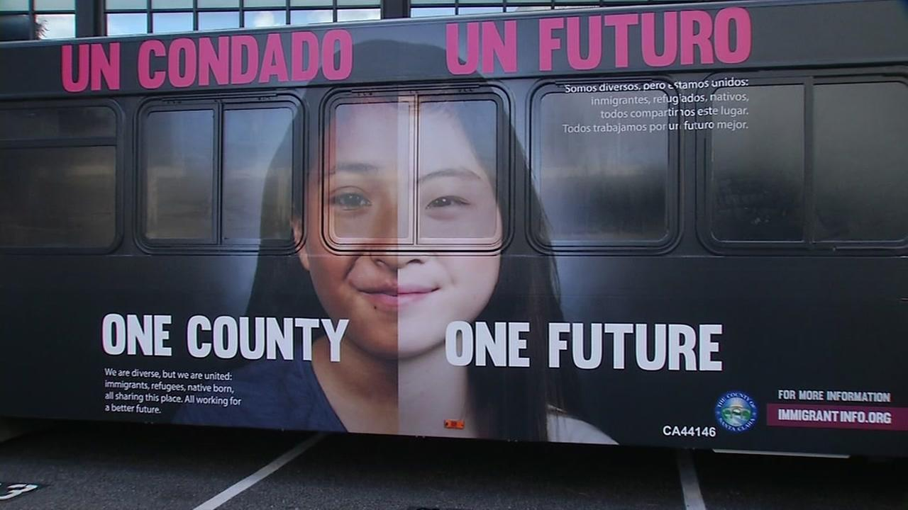 A San Jose city bus appears on Friday, Jan. 19, 2018.