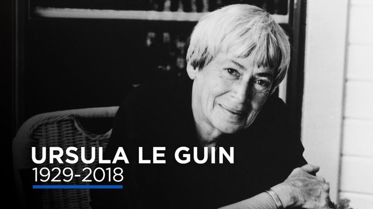 This is an undated image of Ursula Le Guin.