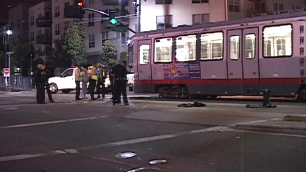 Muni accident in San Francisco