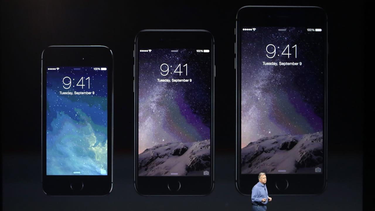 The new iPhones