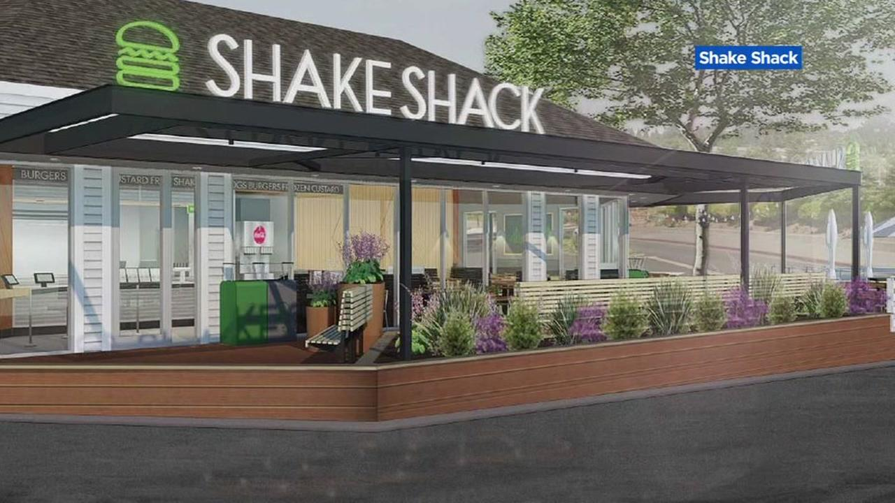 A rendering of a Shake Shack is seen in this undated image.