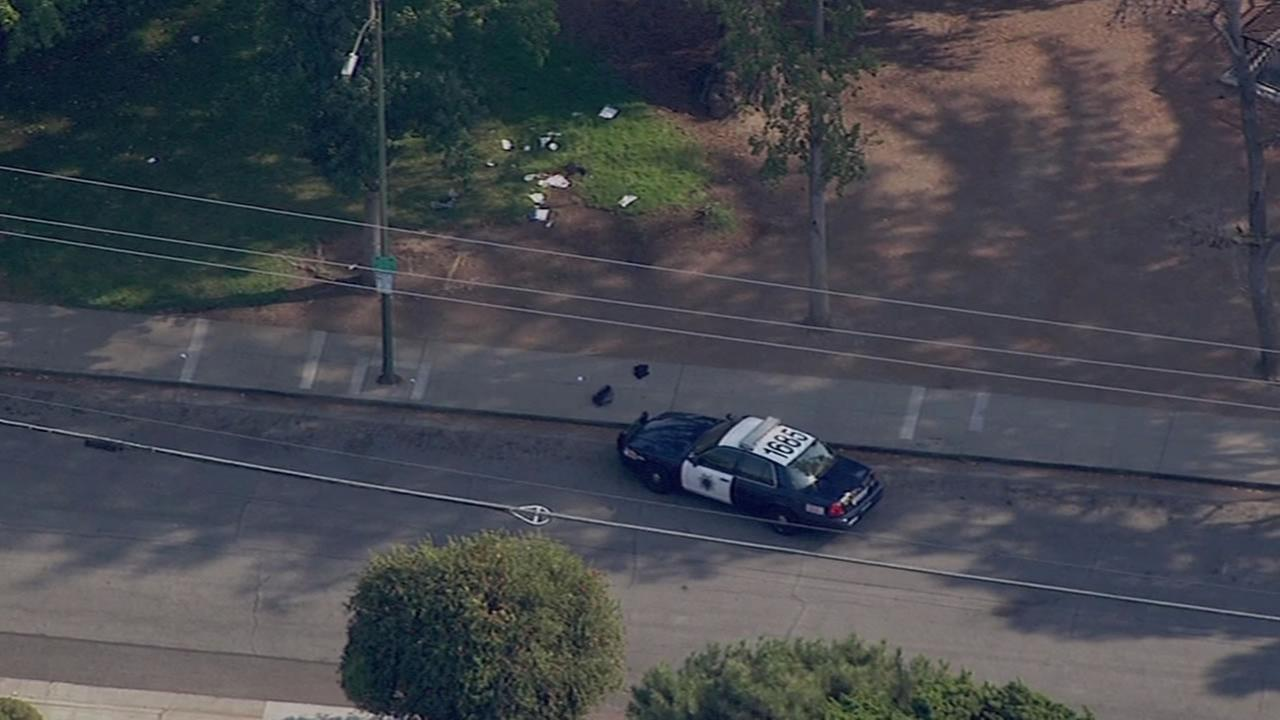 San Jose Police are investigating the stabbing of a 16 year-old-teenager at Marijane Hamann Park Tuesday afternoon.