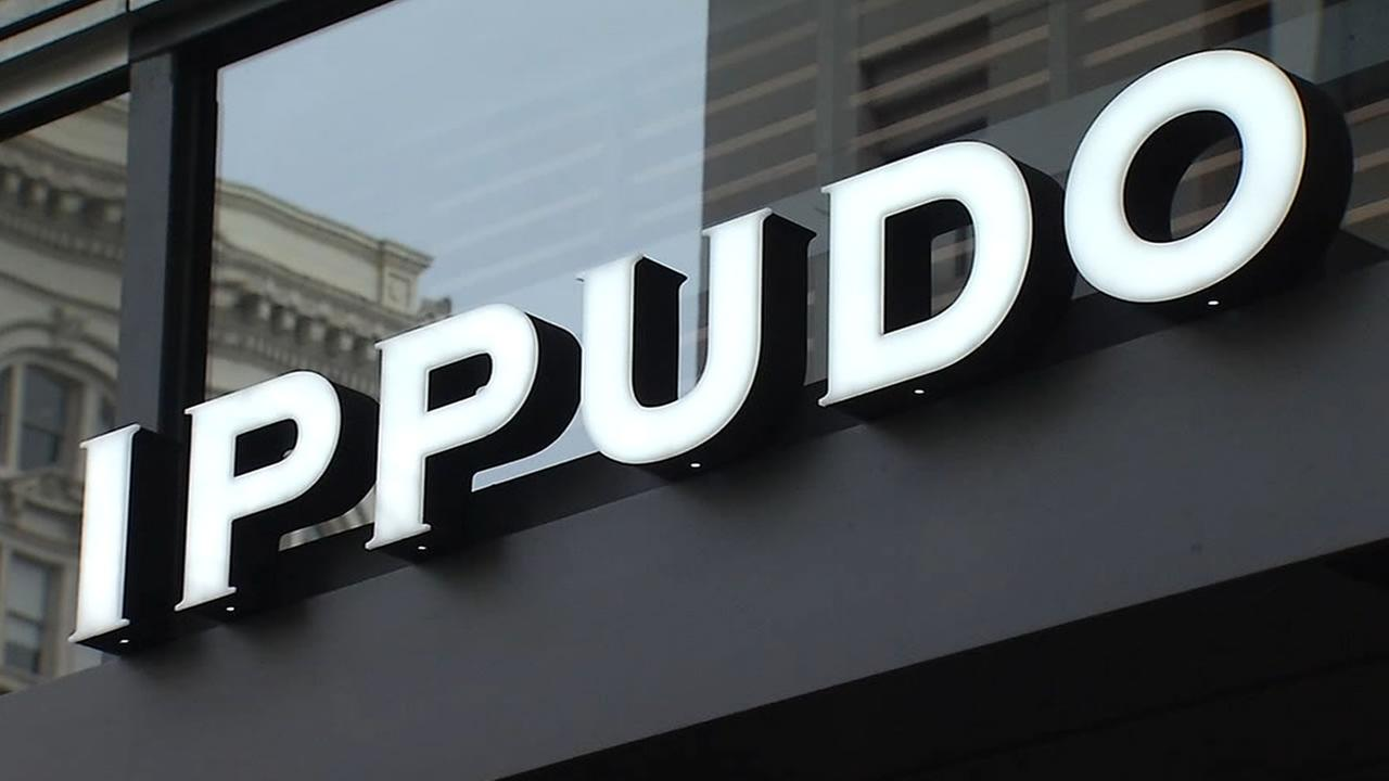 This undated image shows a sign for Ippudo in San Francisco.
