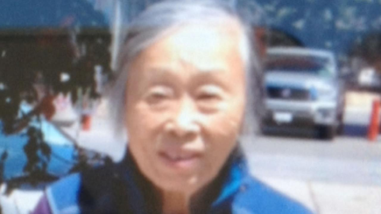 Picture of Connie Shih, a 91-year-old woman with dementia who went missing in Redwood Shores.