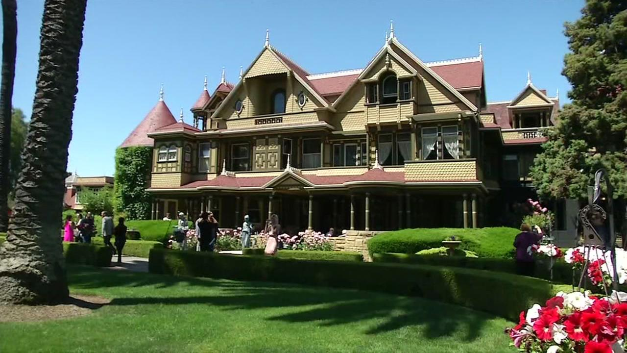 This Winchester Mystery House is pictured in San Jose, Calif.
