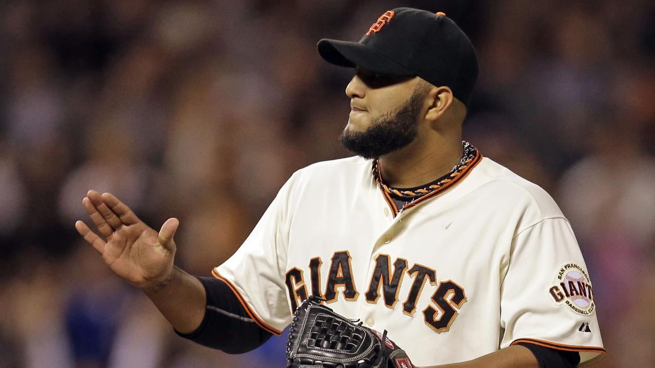 San Francisco Giants Yusmeiro Petit