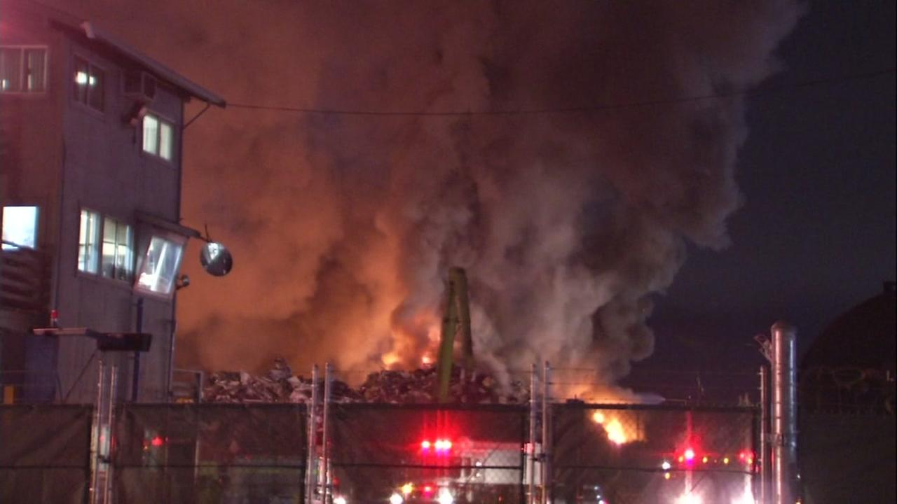 Officials say warning system operated well during Richmond's Sims Metal fire