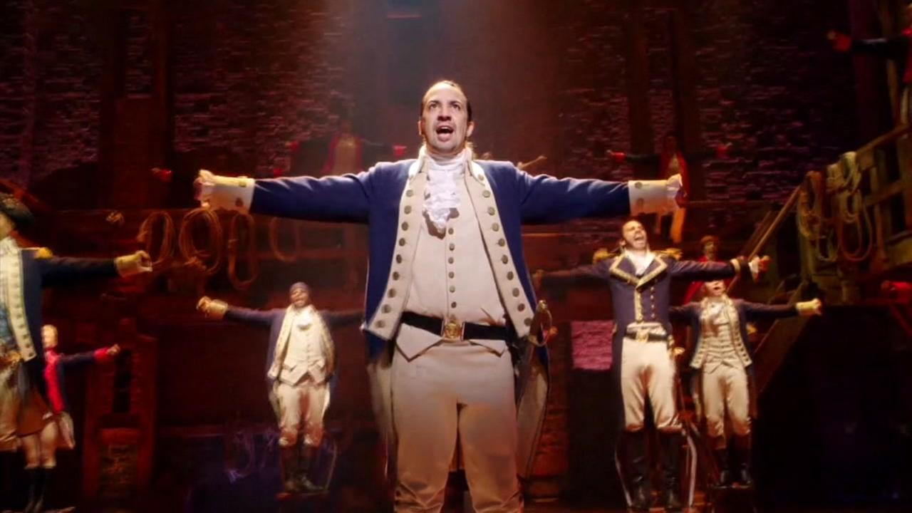 Hamilton musical in San Francisco
