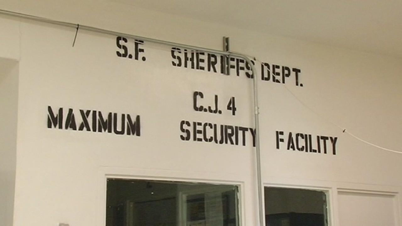 This is an undated image of the San Francisco County Sheriffs Maximum Security facility.