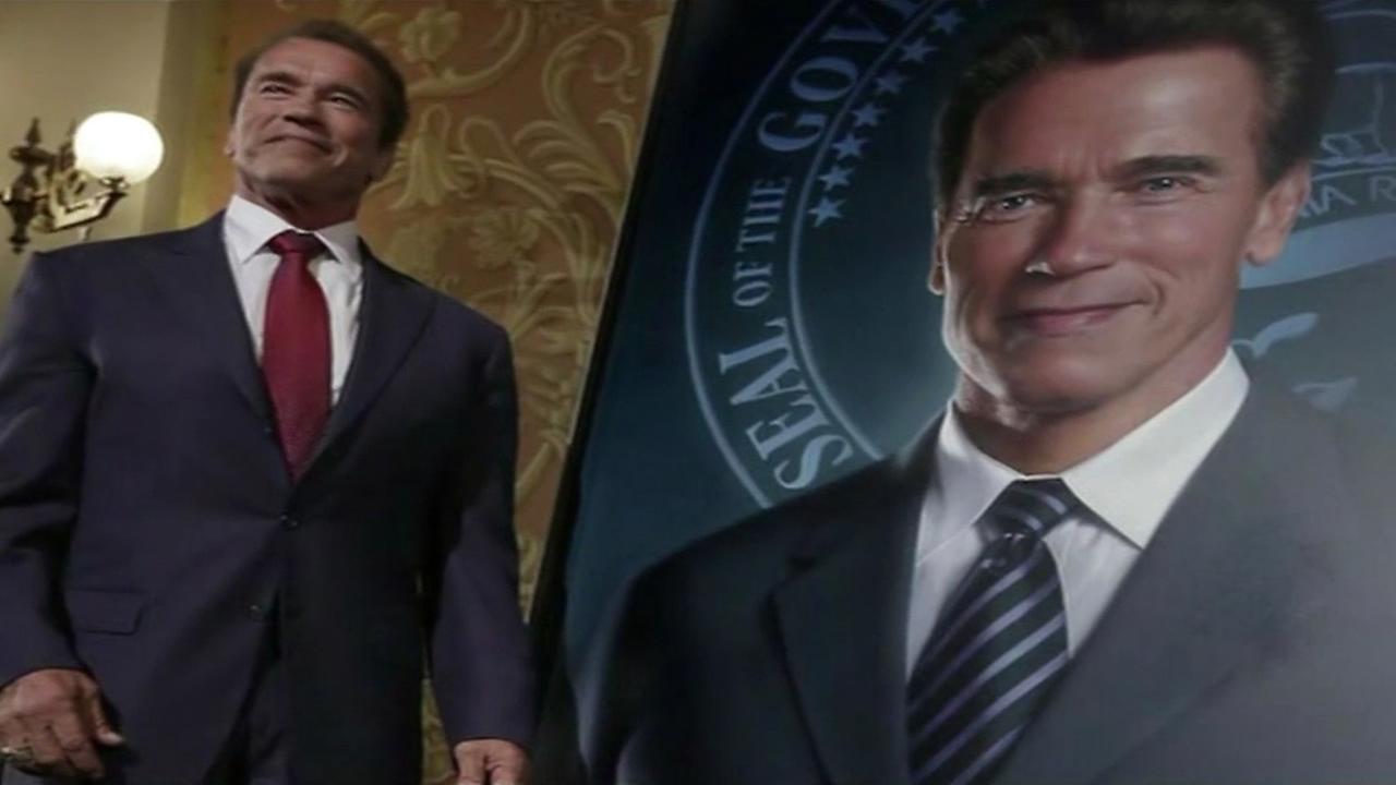 Schwarzeneggers portrait
