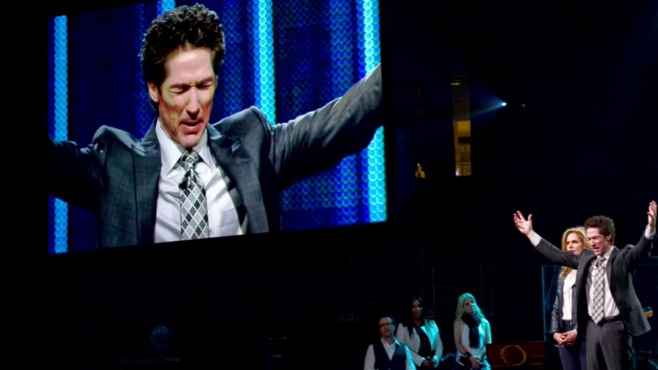This is an undated image of Joel Osteen.
