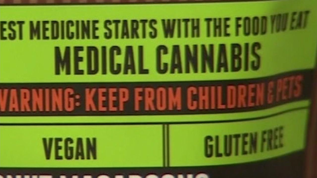 Medical cannabis appears on Wednesday, Feb. 14, 2018.