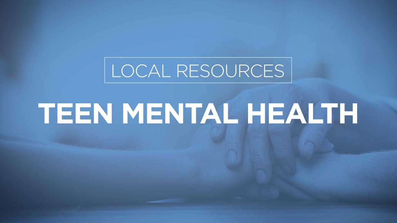 LIST: Teen mental health resources