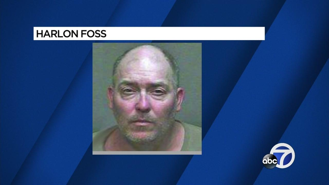 This is an undated mug shot of Harlon Foss, who is accused of double murder.
